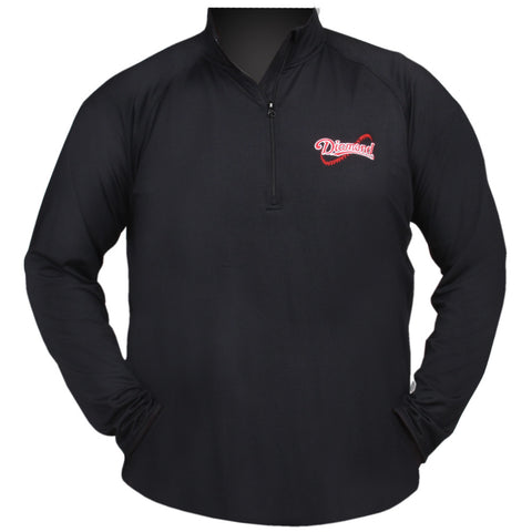 Men's Half-Zip Pullover - Diamond Dugout