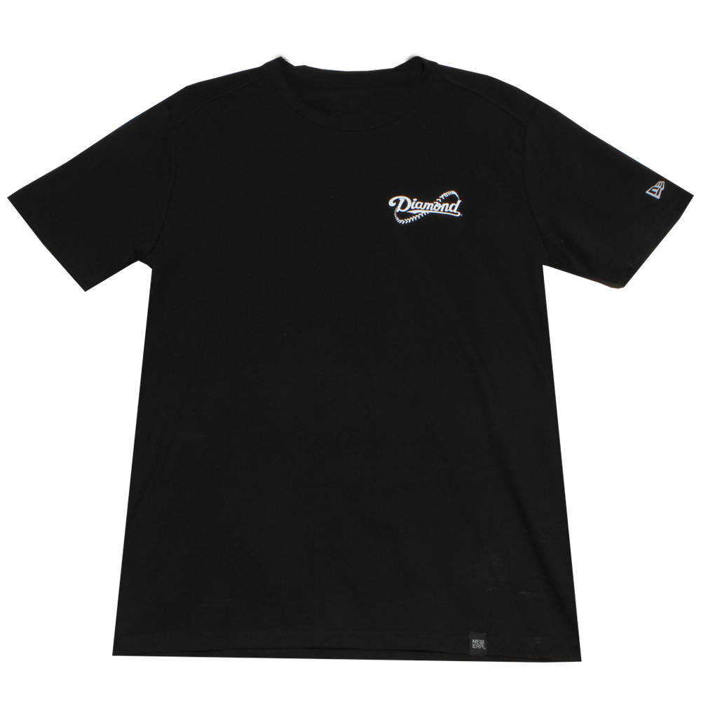 Diamond Seam Logo T-Shirt - Diamond Dugout