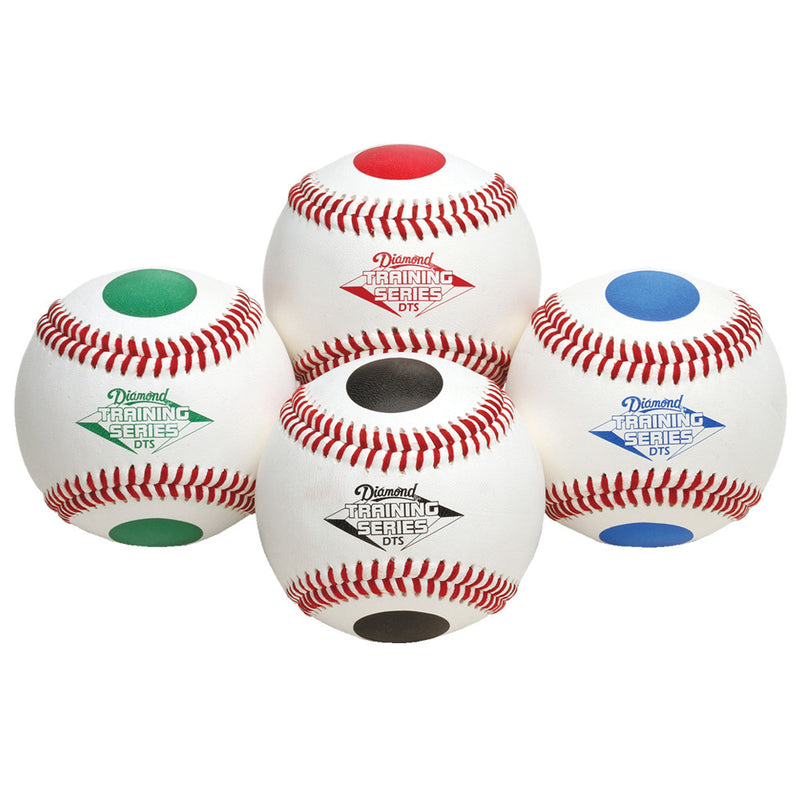 Numbered and Color Dotted Training Balls - Diamond Dugout