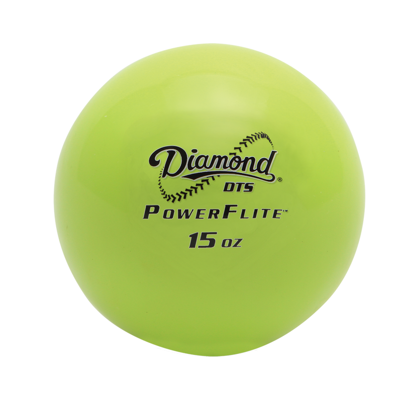 Powerflite® Weighted Hitting Training Ball - Diamond Dugout