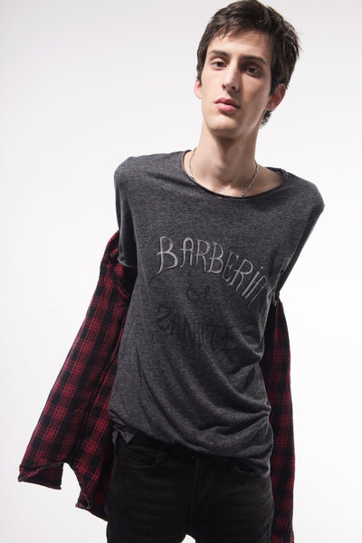 Barberia el Zanate men's crew neck teeshirt