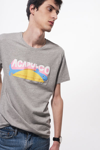 Acapulco men's crew neck t-shirt