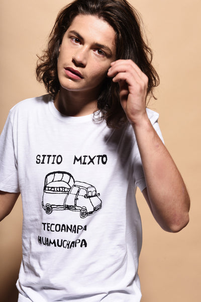 Sitio Mixto men's crew neck t-shirt