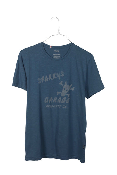 Sparky's men's crew neck teeshirt