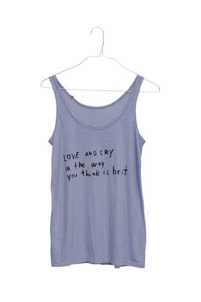 Love and Cry women's tank top
