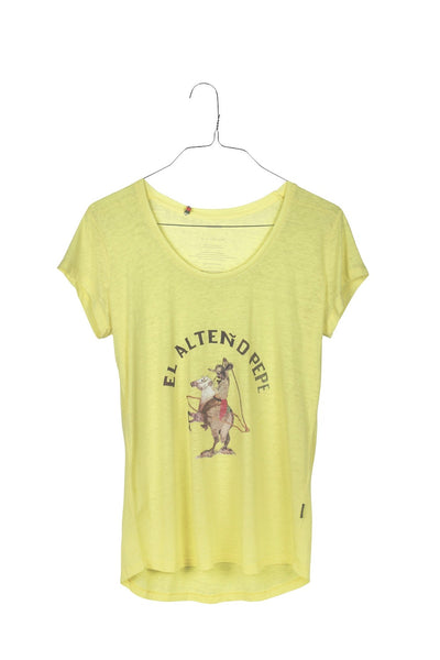 Alteno Pepe soft devoré washed cotton tee