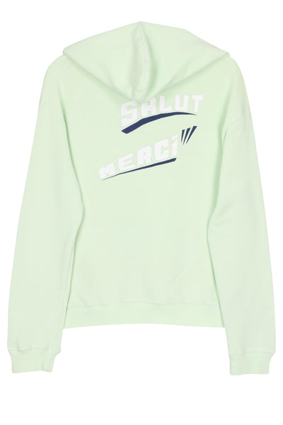 Bonjour Salut Merci deluxe loose knit hoodie
