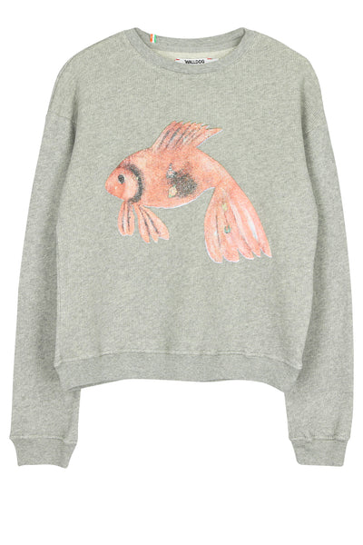 Keshari's aquarium deluxe loose knit sweater