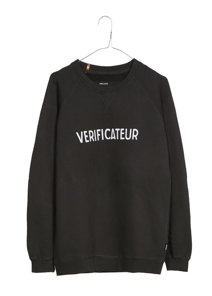 Verificateur's men's sweater