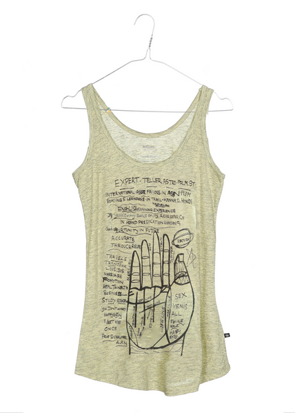 Swami the handreader women's tank top