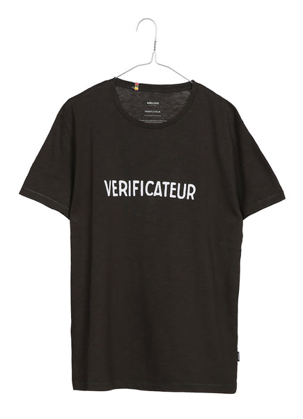 Verificateur men's crew neck t-shirt
