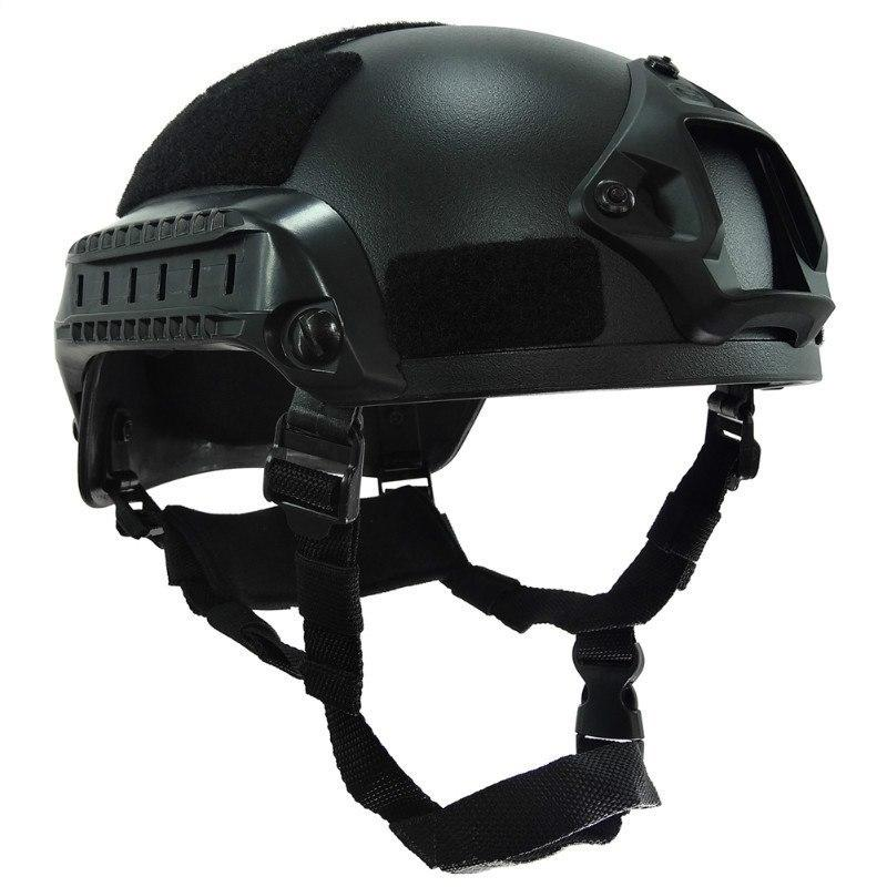 Tactical Airsoft Paintball Helmet Action Version NVG Mount Side Rails Military Combat Helmet - Gogobomo Gear