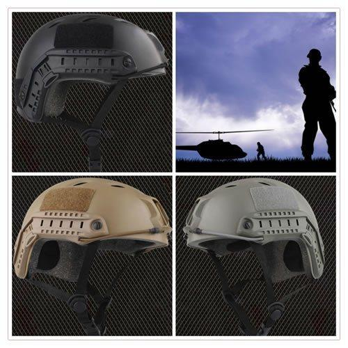 Ultra Durable Emerson Tactical Airsoft Fast Helmet Multiple Colors Outdoor Wargame Equipment - Gogobomo Gear