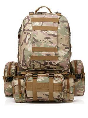 50L Molle Tactical Assault Outdoor Military Rucksacks Backpack Camping Bag - Gogobomo Gear