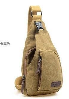 Men's Shoulder Bag Men Sport Canvas Messenger Bags Casual Outdoor Travel Hiking Military - Gogobomo Gear
