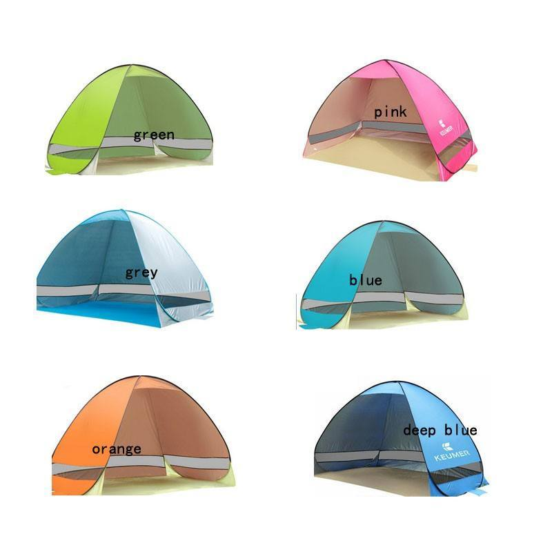 Fully Automatic Automatic Sun Shade Quick Open Camping Hiking Beach Summer Pop Up Tent UV Protection - Gogobomo Gear