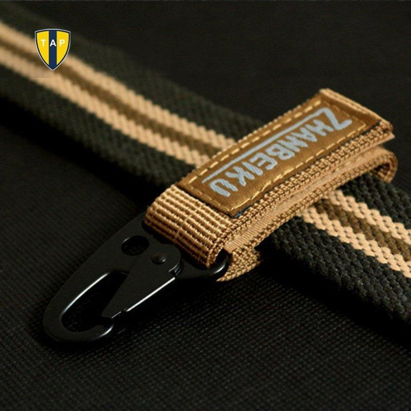Carabiner High Strength Nylon Key Belt Hook MOLLE Webbing Buckle Hanging Camping - Gogobomo Gear