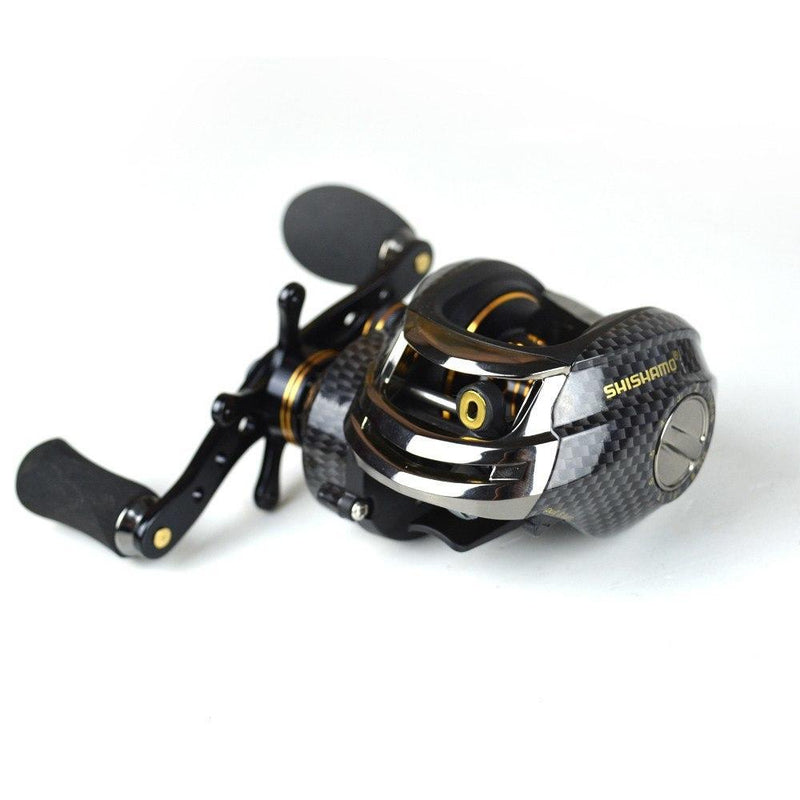 Baitcasting Reel 14 BB Ball Bearings Carp Fishing Gear Left Right Hand Bait Casting Fishing Reel - Gogobomo Gear