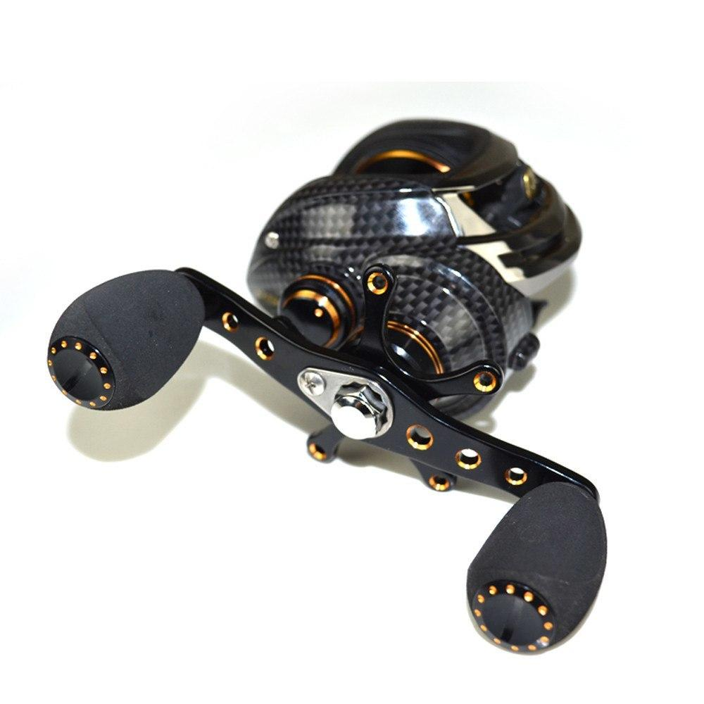 baitcasting reel 14 bb ball bearings carp fishing gear left right, Reel Combo