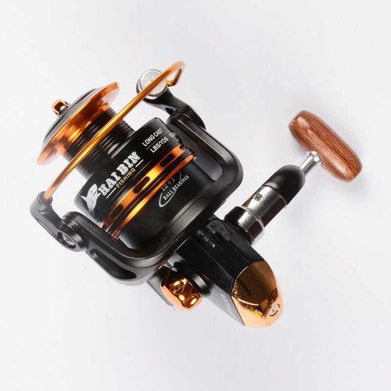 Spinning Reel Fishing Reel 13BB 5.5:1 Casting Lure Tackle Line - Gogobomo Gear