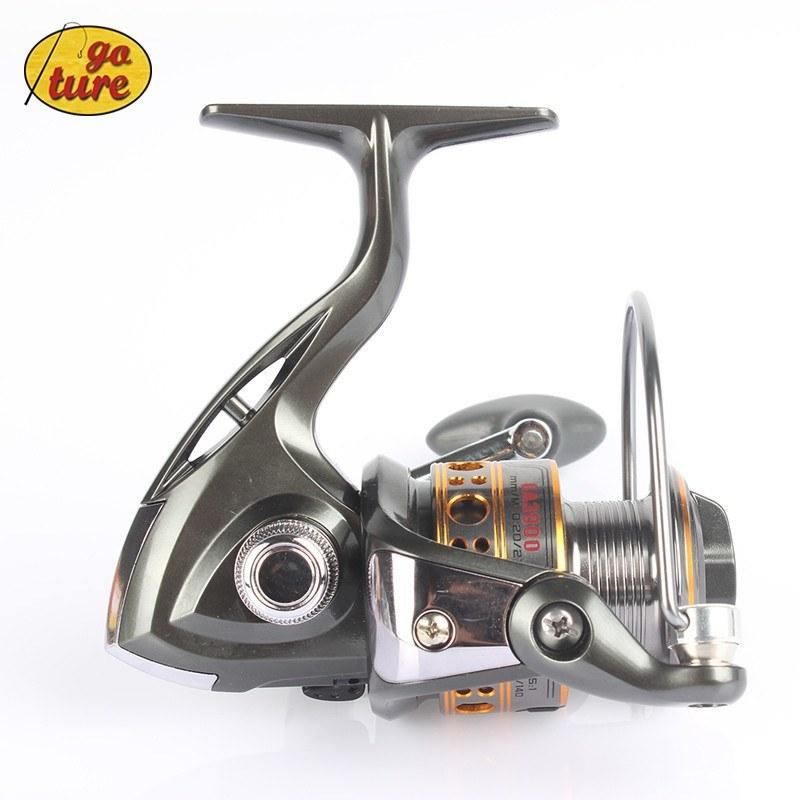 Spinning Fishing Reel 12BB + 1 Bearing Balls 1000-7000 Series Spinning Reel Boat Rock Wheel - Gogobomo Gear