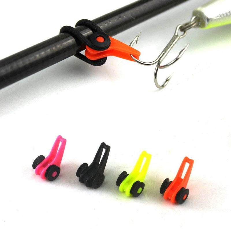 Multiple Color Plastic Fishing Rod Pole Hook Keeper Lure Spoon Bait Small Fishing Accessories - Gogobomo Gear
