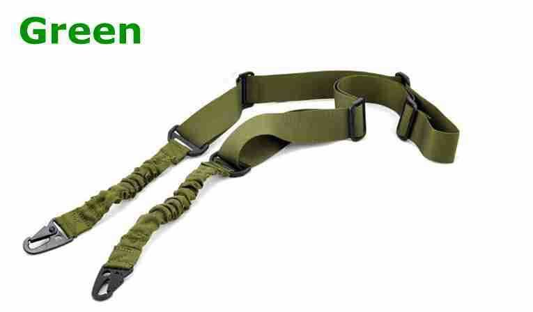 Adjustable Two Point Tactical Rifle Sling Hunting Gun Strap Outdoor Airsoft Bungee System Kit - Gogobomo Gear - 5