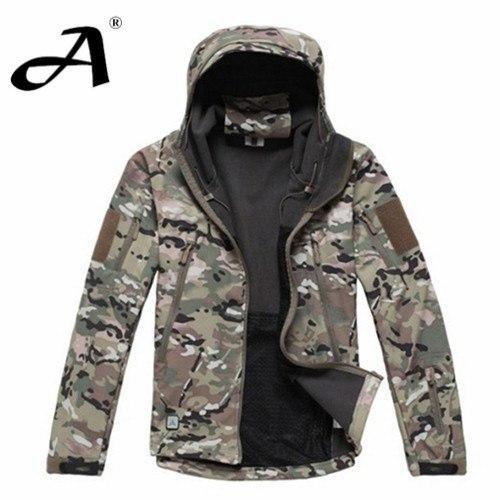Army Camouflage Coat Military Jacket Waterproof Windbreaker Raincoat Hunting Clothes Outdoor Coats - Gogobomo Gear