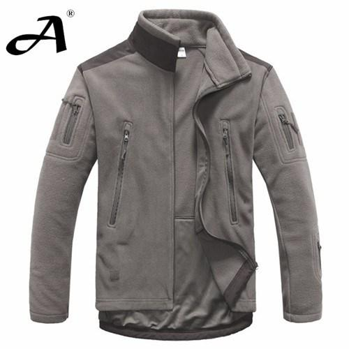 Mens Clothing Autumn Winter Fleece Army Softshell Jacket Outdoor Hunting Military Style Jackets - Gogobomo Gear