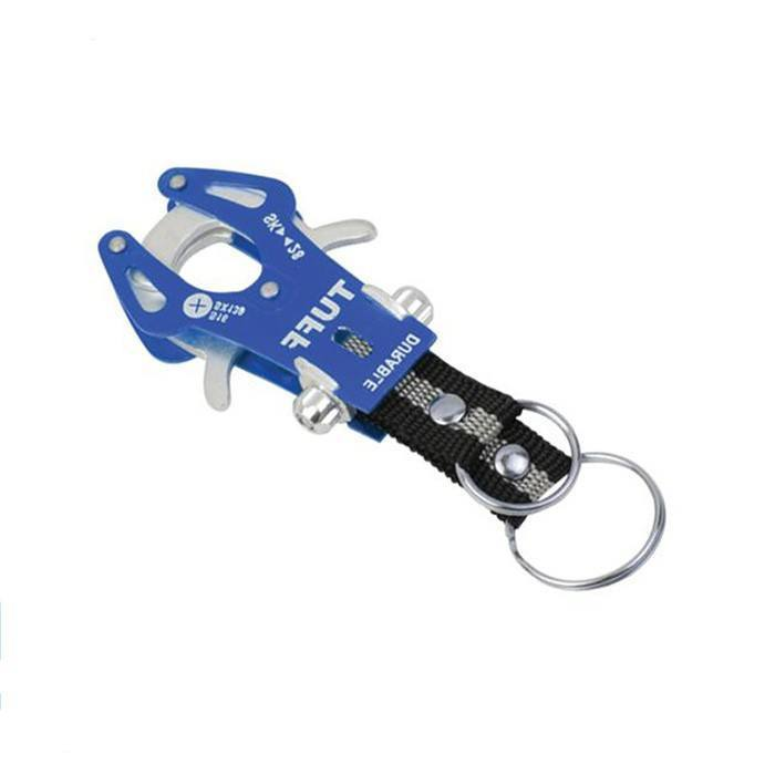 Durable Outdoor Hiking Climb Colorful Hook Carabiner Clip Lock Keyring Keychain - Gogobomo Gear