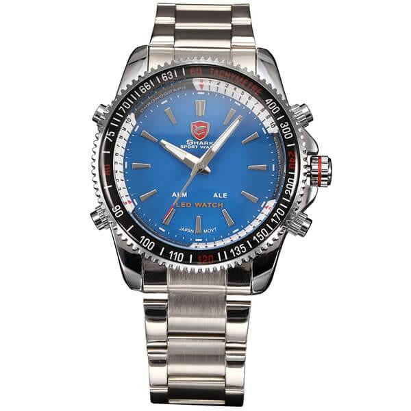 Official Shark Mako Stainless Steel Sport Watch