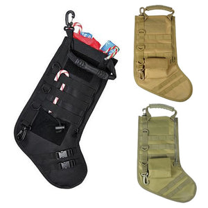 Elite Tactical MOLLE Christmas Stocking Multiple Colors