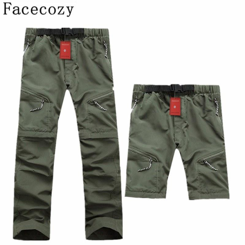 Men's Outdoor Quick Dry Removable Pants Summer UV Protection Hunting Fishing - Gogobomo Gear