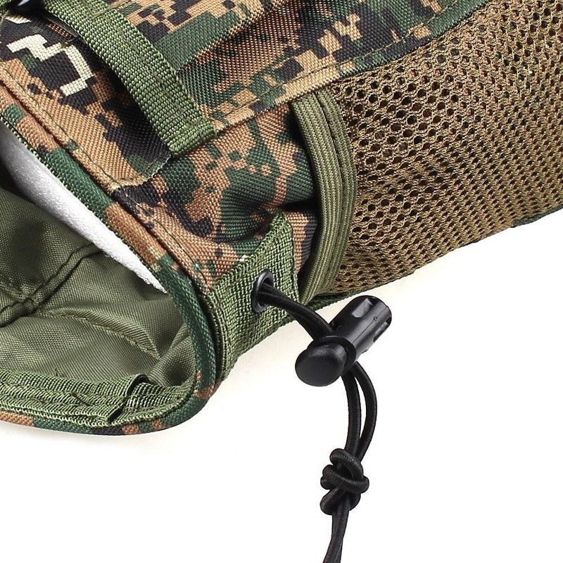 Large Capacity Waist Molle Military Tactical Airsoft Paintball Hunting Folding Mag Pouch - Gogobomo Gear