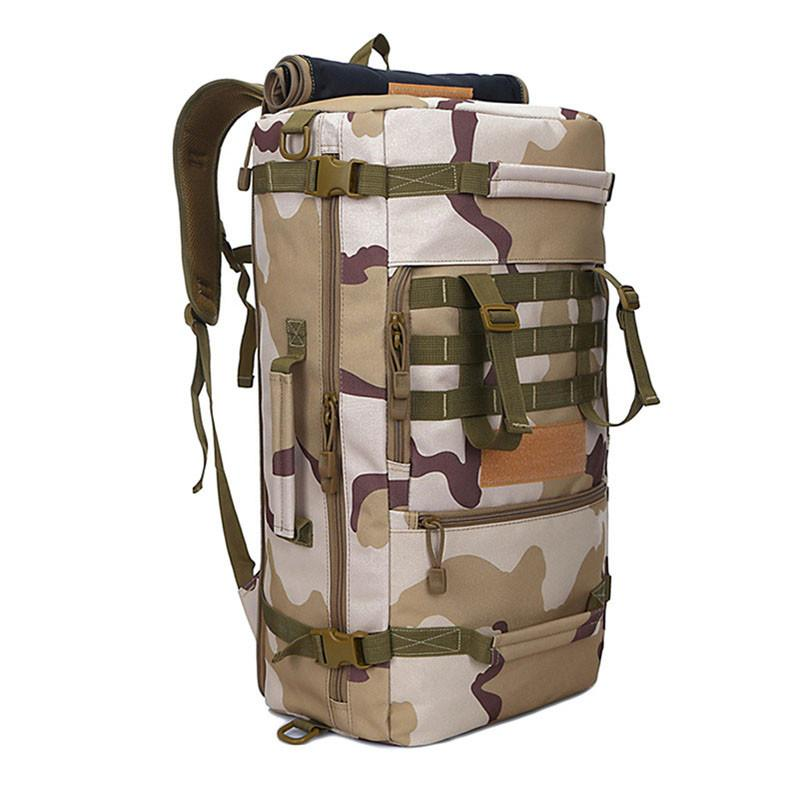 50L Military Tactical Backpack Hiking Camping Daypack Shoulder Bag