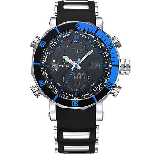 Men's Luxury Big Watch Sports style with Analog and Digital Display