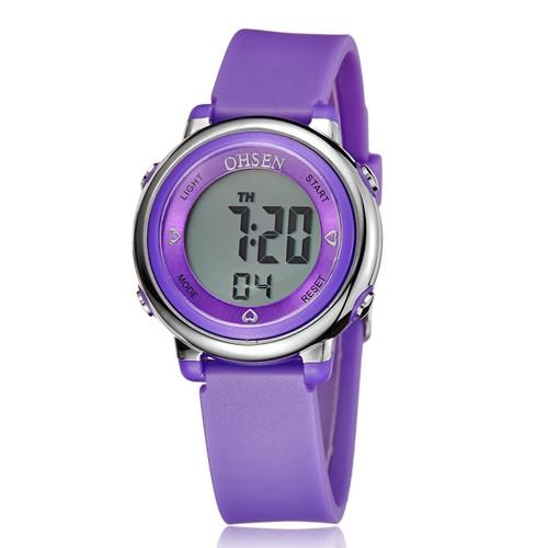 OHSEN Women's OUTDOOR Digital 5ATM Waterproof Watch