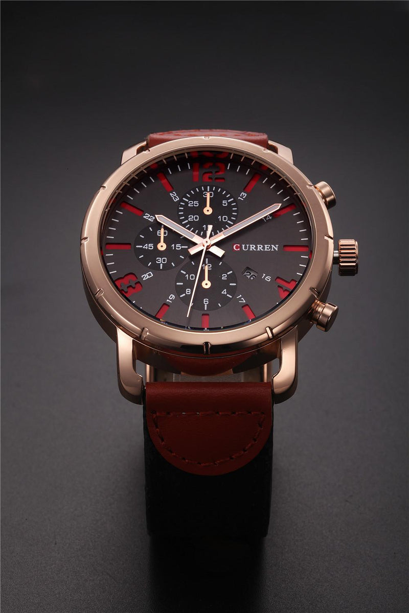 CURREN Men's Army Soldier Military Canvas Strap Outdoor Sport Watch