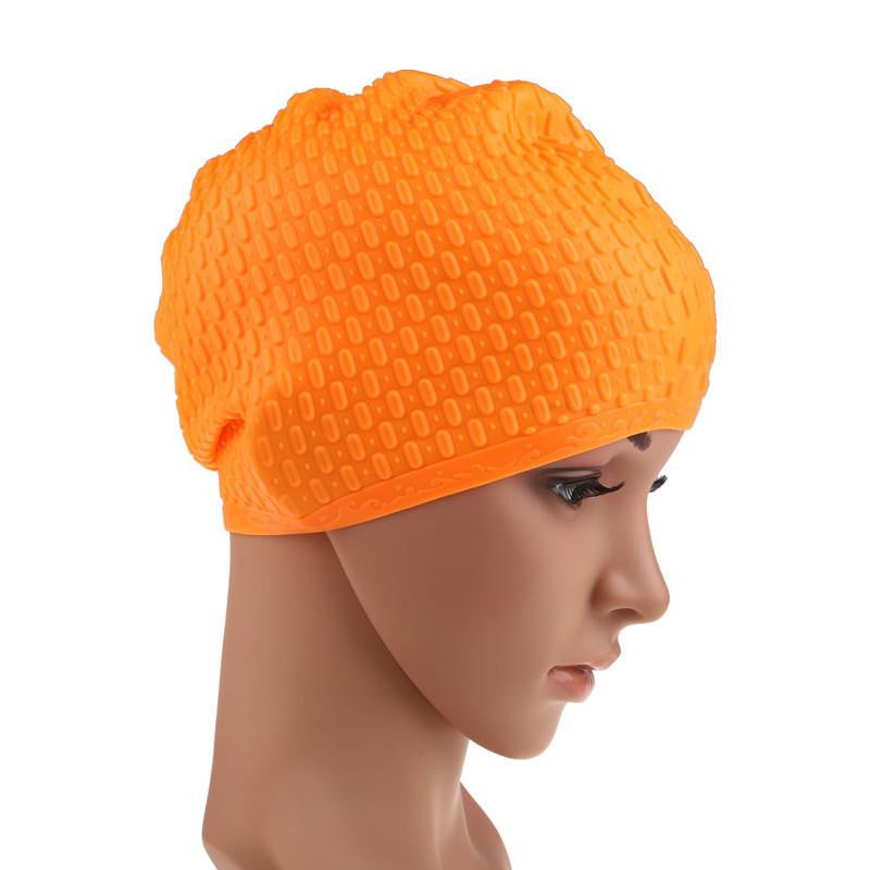 Durable Silicone Swimming Cap for Men and Women