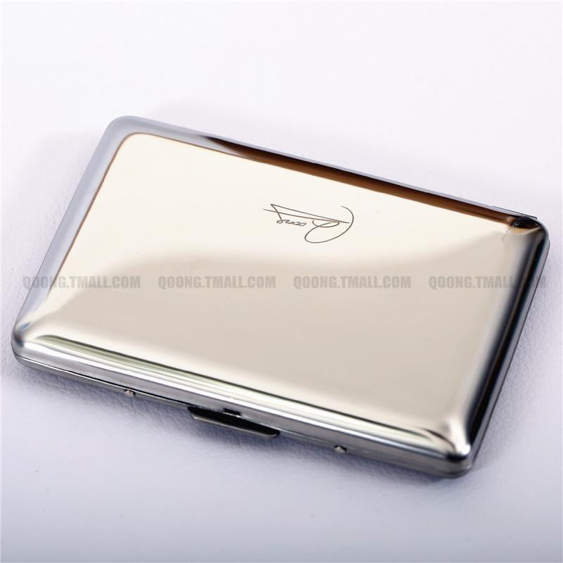 Waterproof Stainless Steel Travel Card Case Wallet for Men and Women