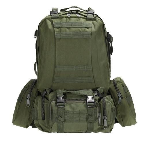 Military Large Capacity Outdoor Backpack for Mountain Climbing, Camping and Traveling