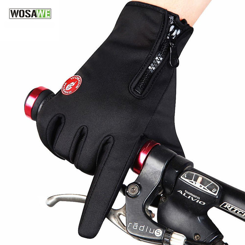 Windstopper Outdoor Sports Skiing Touch Screen Glove Cycling Gloves Mountaineering Military Racing