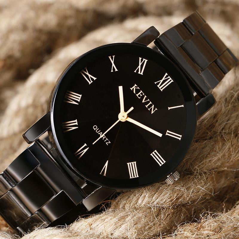 Gorgeous KEVIN Watch for Men and Women with Analog Display and Premium Stainless Steel Strap