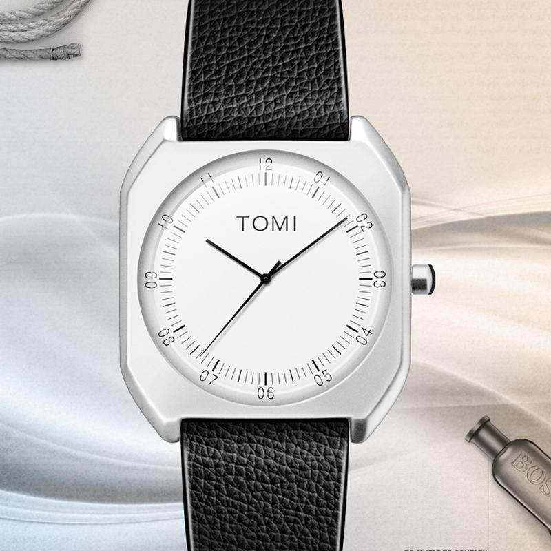 Elegant Brand TOMI Unisex Ultra Thin Casual Watch