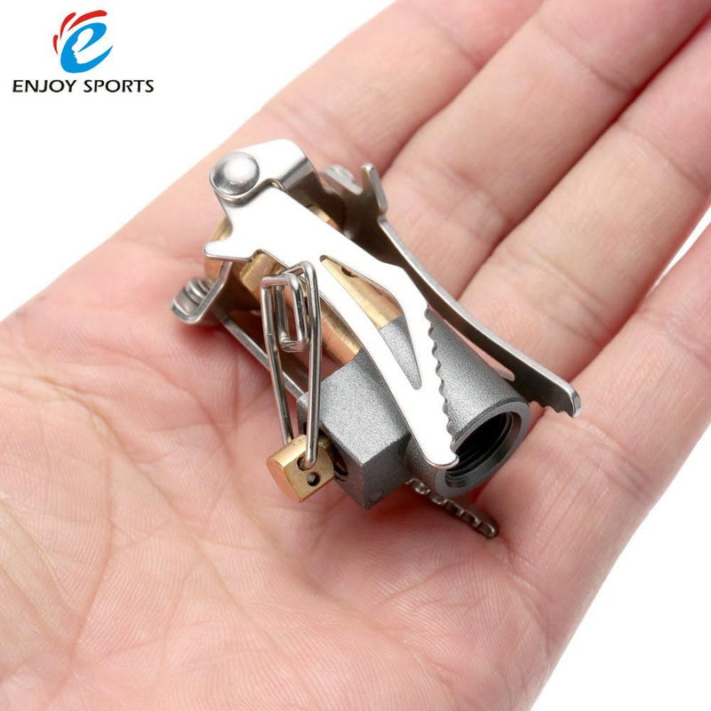 Outdoor Portable Pocket Size Camping Gas Stove 45g 3000W for Camping and Hiking