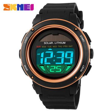 New Men's SKMEI Solar Energy Powered Sporty Watch