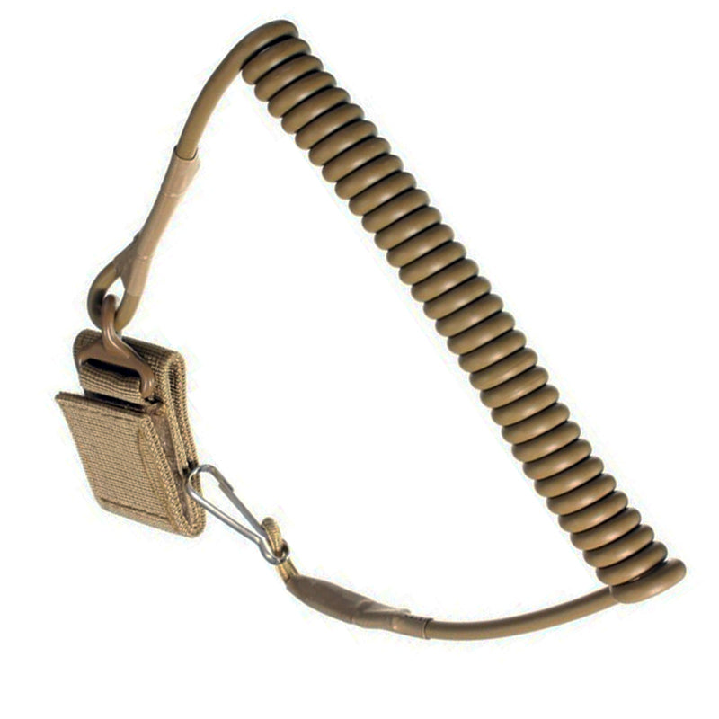 Tactical Single Point Handgun Spring Lanyard For Airsoft