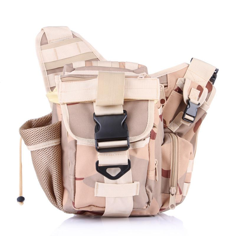 Sacheted Professional Camera Messenger Bag SLR Multifunctional Bags Lightweight Durable Army