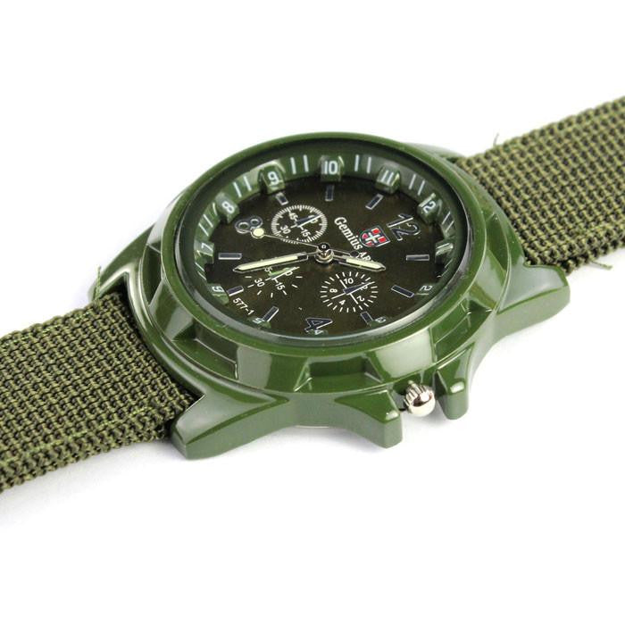 Tactical Watch for Men with Analog Display