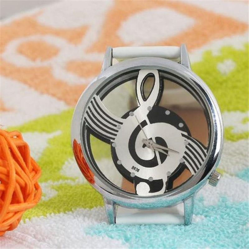 New Musical Note Inspired Unisex Watch with supersoft Silicone Strap